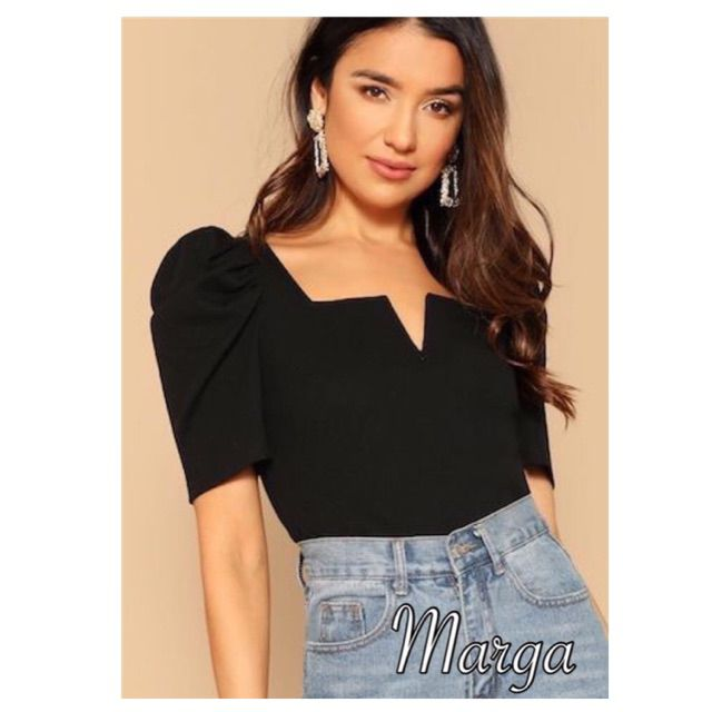 I'm selling Marga semi crop top squareneck tops for ₱199. Get it on Shopee now! https://shopee.ph/crizelle19/6116311437… #ShopeePHpic.twitter.com/b3wS3grFLu