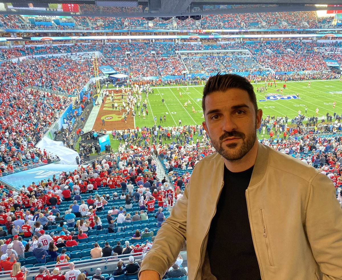 What an amazing experience 🏈🤙🏻#SuperBowl #SBLIV