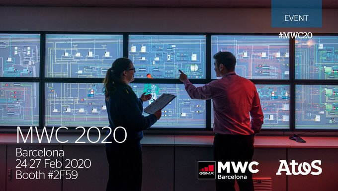 [#MWC20] 🔜There is a major focus on #DigitalTransformation and #5G at MWC 2020, and...