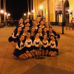 Image for the Tweet beginning: Dance team places 4th out