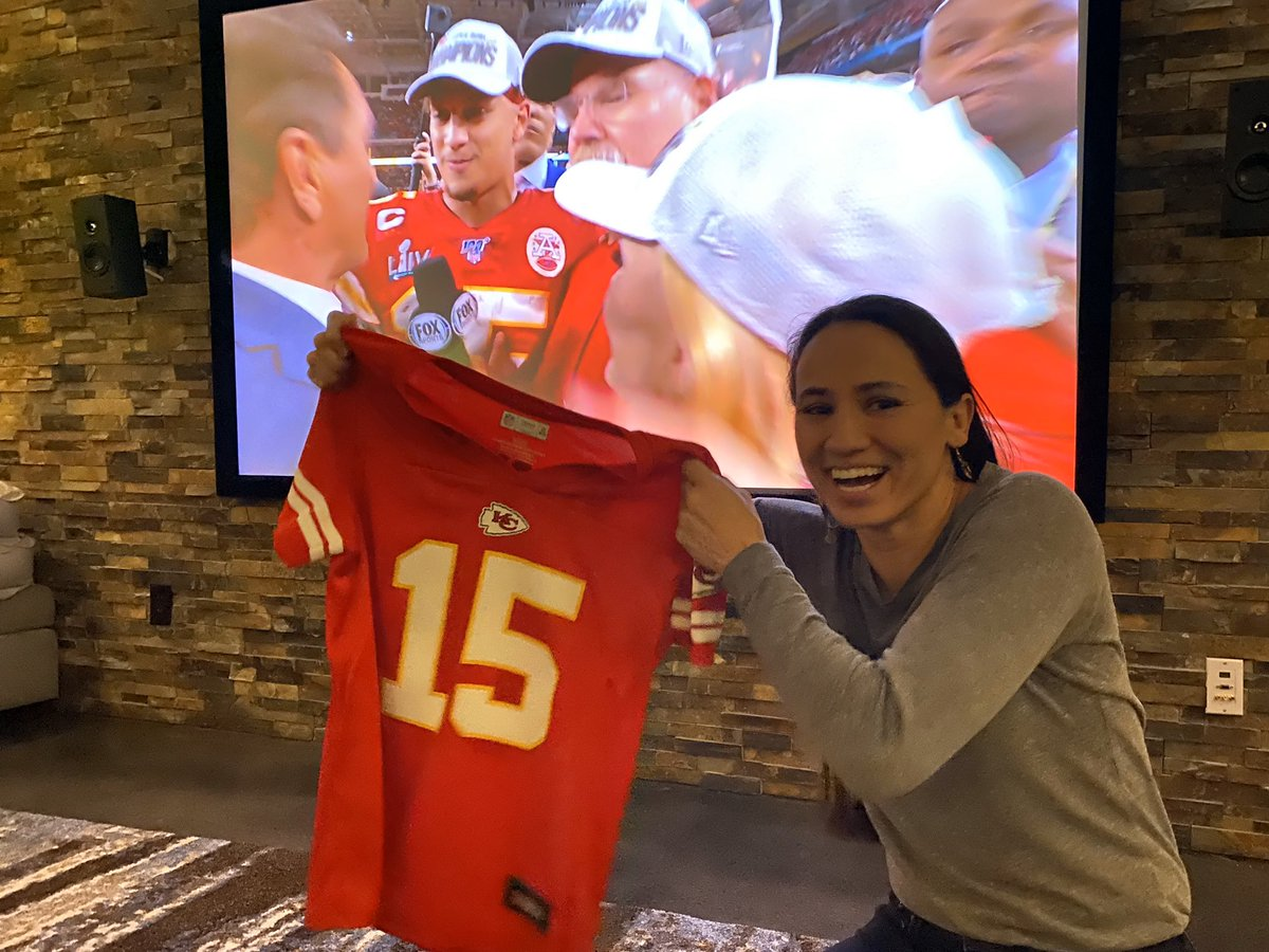 I've got your jersey right here, @ericswalwell!