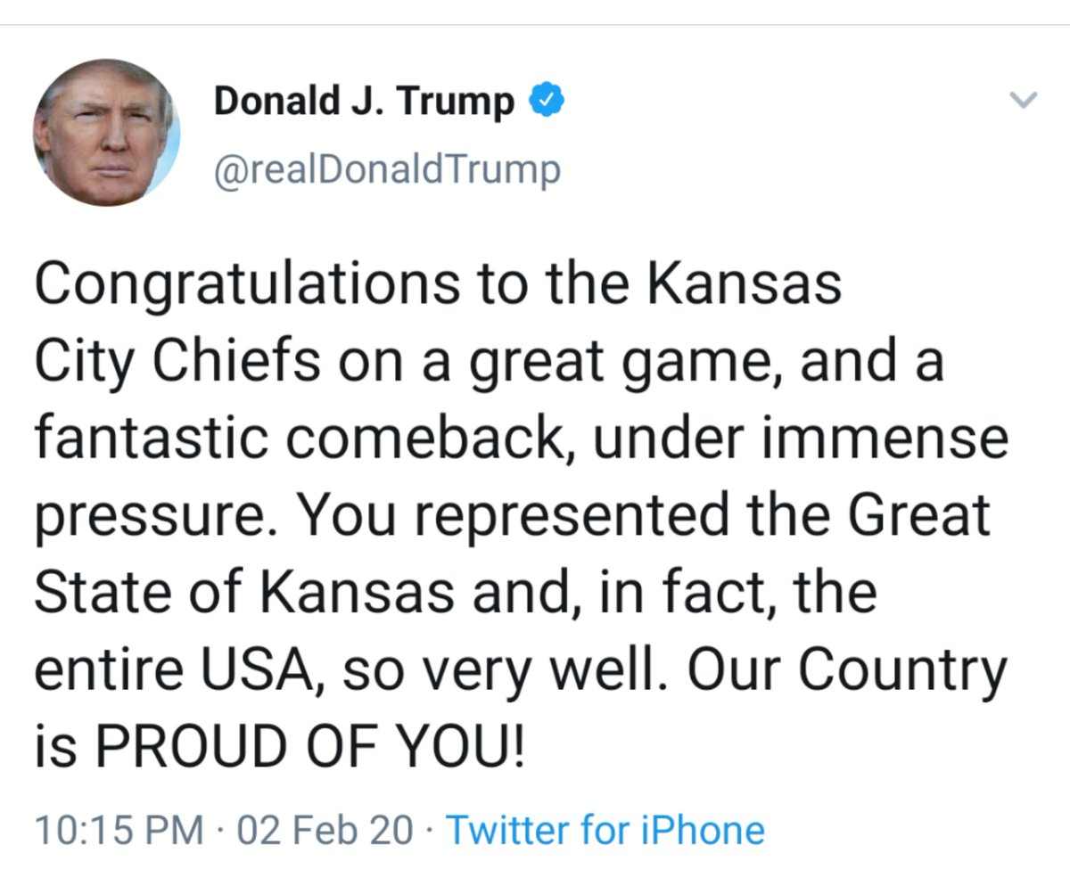 """@realDonaldTrump """"You represented the Great State of Kansas""""...  Literally, the dumbest president* of all-time. https://t.co/ifxYpYZUxe https://t.co/pQeEWtopuI"""