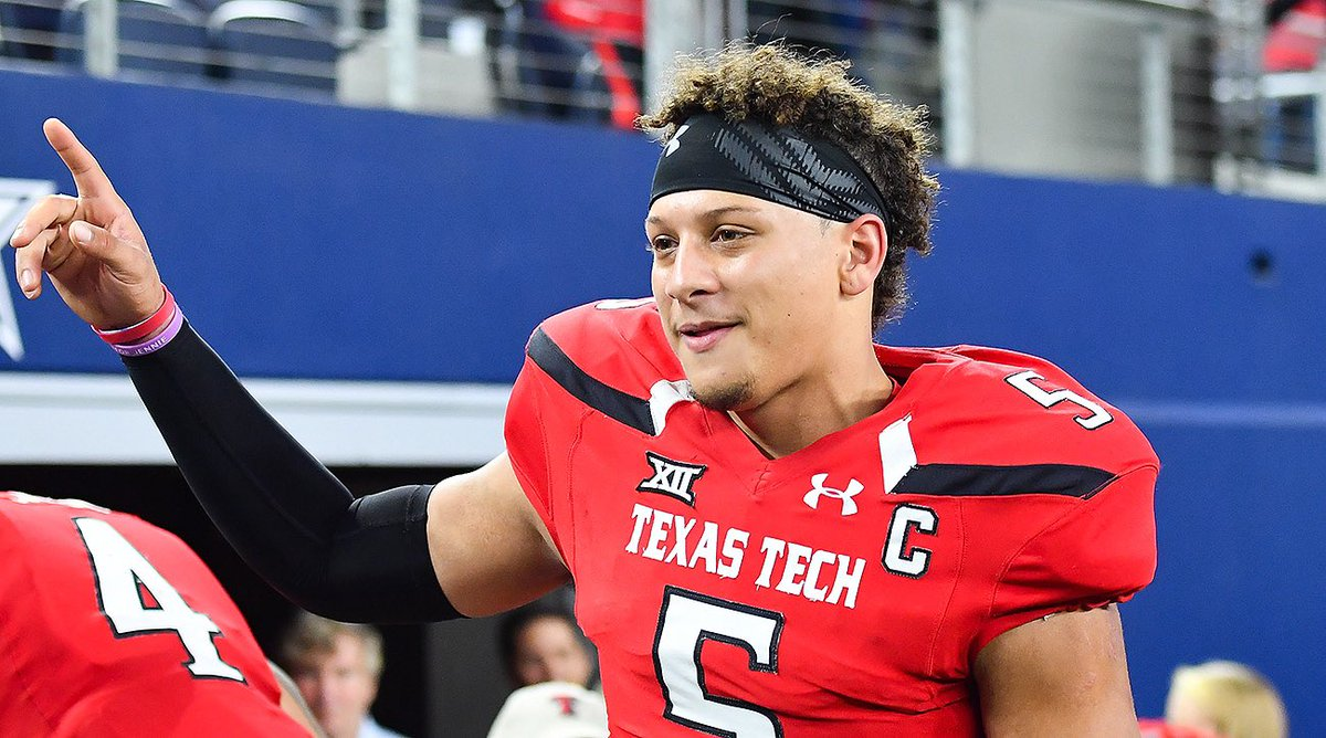Patrick Mahomes From Whitehouse, TX Went to Texas Tech Your Super Bowl MVP