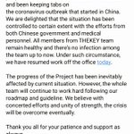 Image for the Tweet beginning: Message to THEKEY Community Members #blockchain
