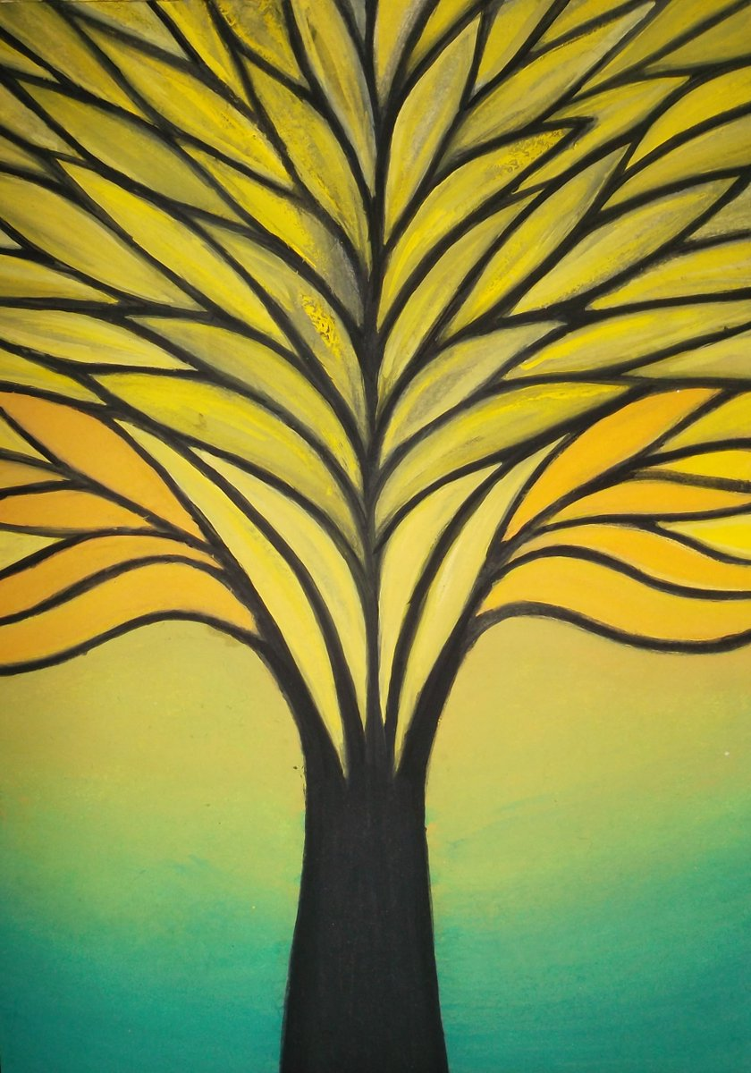 Wonderful to see and I bet it was great to be a part of. With you in #treestory spirit #treesareabitlikehumans and #godtree from my #evolutioncollection of paintings poetry and prose_pic.twitter.com/WXe22MnnrI