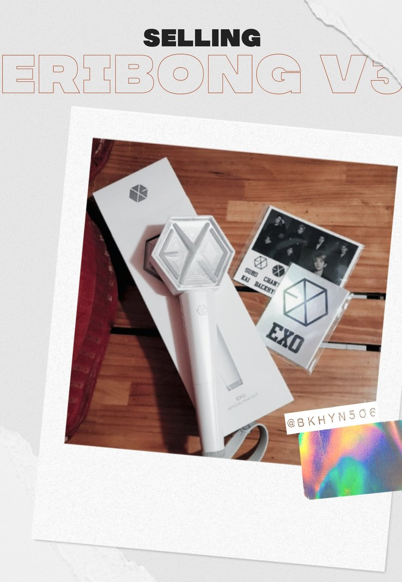 [PLS RT]   Selling my EXO Ver 3. Lightstick  ordered thru 11th Street (서울) used once during #ExplorationinManila  in mint condition  includes strap, original box, baekhyun photocard, and stickers (hologram+members)   Php 2500 + SF   pls dm for other details  <br>http://pic.twitter.com/RRiFyN2WAM