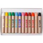 色の名前が全部「はだいろ」!?極限まで多様性を尊重しているクレヨン!
