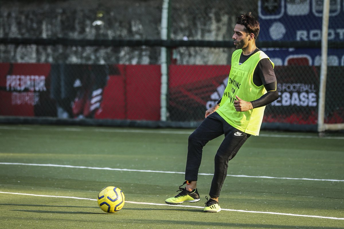 The All Stars got together this weekend for another practice session as we get closer to the first match of the year.  We will take on the @jamnabaialumni in a friendly match at the JNS Ground in Mumbai.  #AllStarsFC #PlayingForHumanity #Football #ASFC #ASFCvJNS #Bollywood  (1/2)pic.twitter.com/BDbQYmvmZI