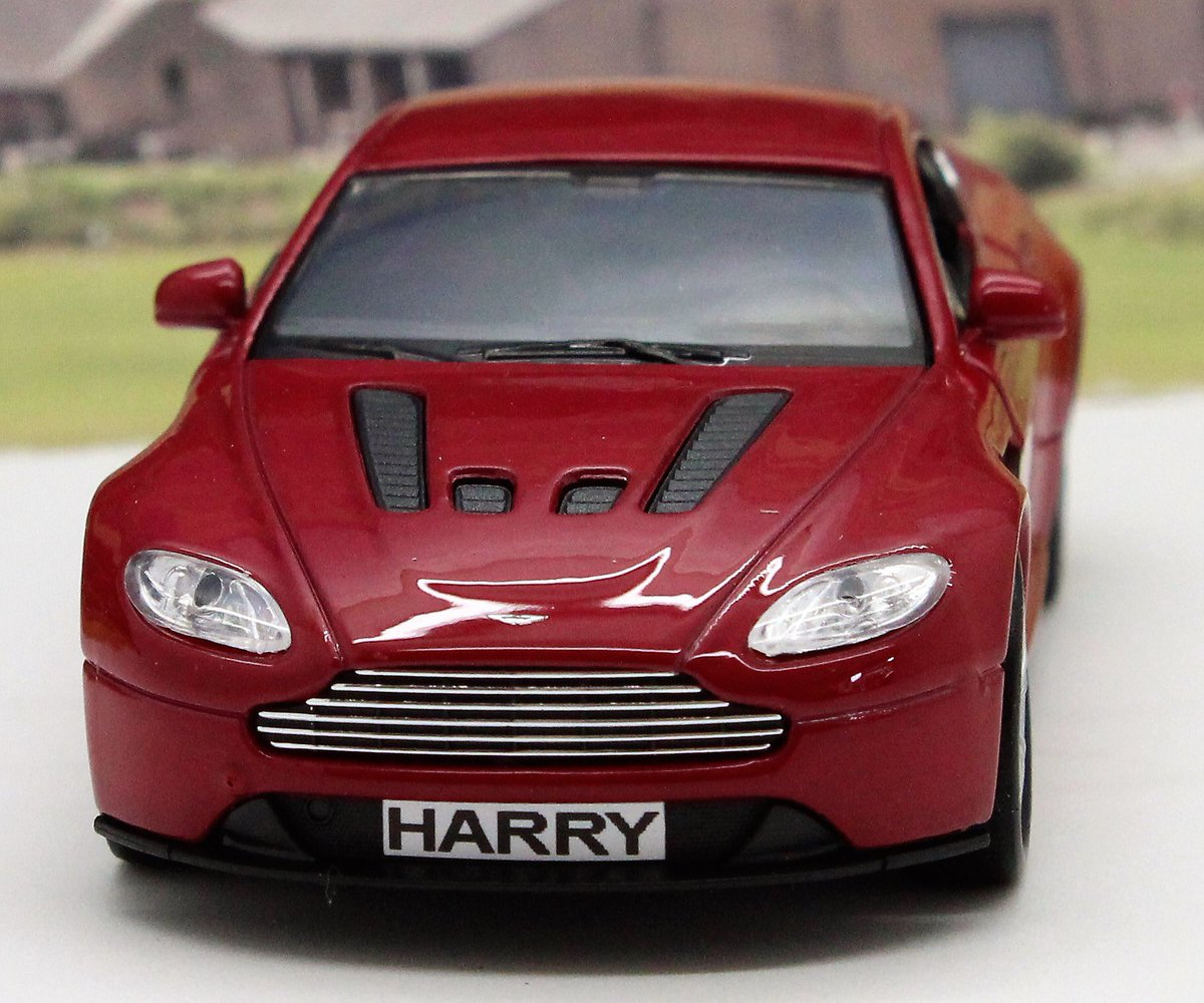 Wedding Day Gift Personalised Page Boy Usher Name Toy Red Mercedes Boys Boxed