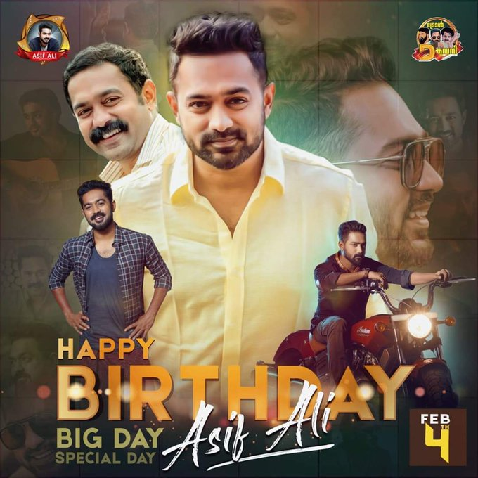 Happy Birthday Asif Ali  Best Wishes from fans !!