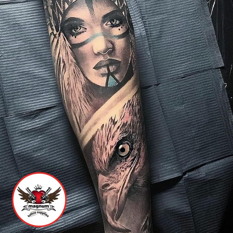 Cool tattoo by Amy Ellis using #magnumtattoosupplies . . #tattoo #dark #art #tattooartists #tattooed #ink #inkeeze #inked #realism #realistictattoo #artdriven #nativeamericantattoo #naturetattoo #legsleevetattoo #tattoomagazine . . http://www.instagram.com/amy_ellistattoos/ …pic.twitter.com/Chx0AQpuqN