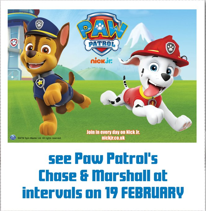 Half term FUN at the Hop Farm Family Park! And see PAW PATROL's Chase and Marshall on the 19th February! Cameras at the ready! Info @ https://t.co/O4SngYhdR3  #pawpatrol #thingstodowiththekids @MumsnetKent @paddockwoodmums https://t.co/h9kS5AJH9X