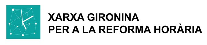 Resultado de imagen de logo xarxa gironina per a la reforma horària