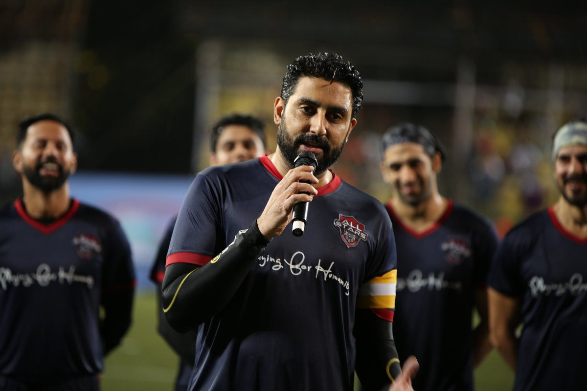 Wishing a very #HappyBirthday to the skipper of the All Stars, @juniorbachchan Have a wonderful day and year ahead captain! . . #AllStarsFC #PlayingForHumanity #ASFC #Football #TheBeautifulGame #LetsPlay #Celebrities  #Bollywood #Celebspic.twitter.com/OQ2JRrxzDA