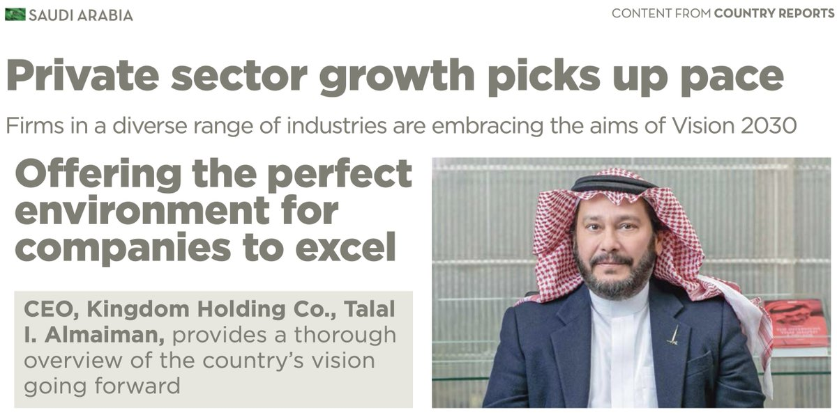 "Quoting our CEO, Eng. Talal I. Almaiman,   ""We must nurture an environment that would cater to the best brains of the world, where they will feel welcome and at home.""  Talking about the impact of Vision 2030 on Newsweek Country Reports  The Full Article:"