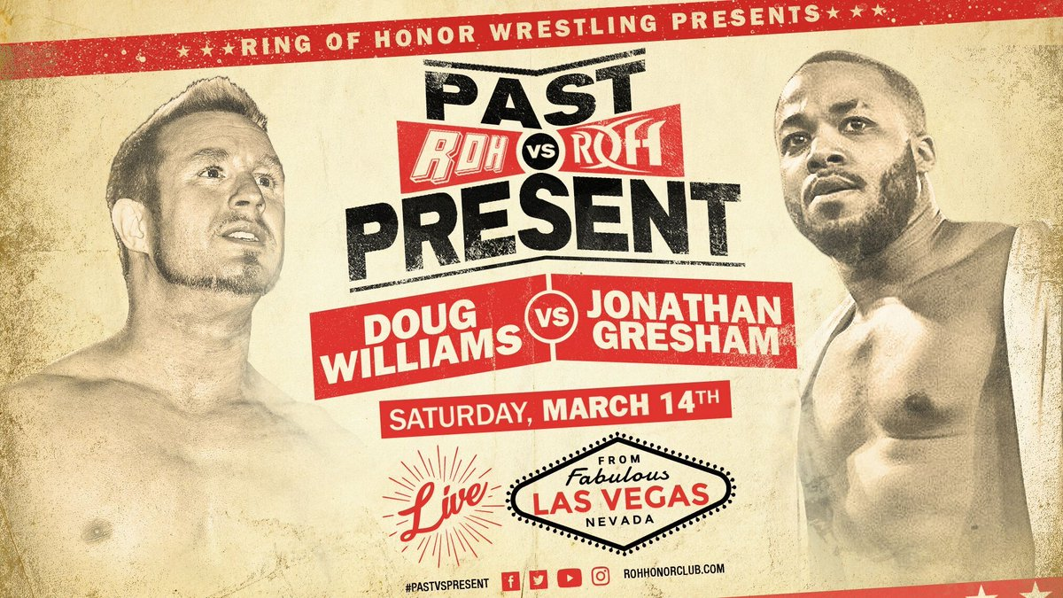 ROH: Past Vs. Present 2020 Updates For March 14th In Las Vegas, Nevada