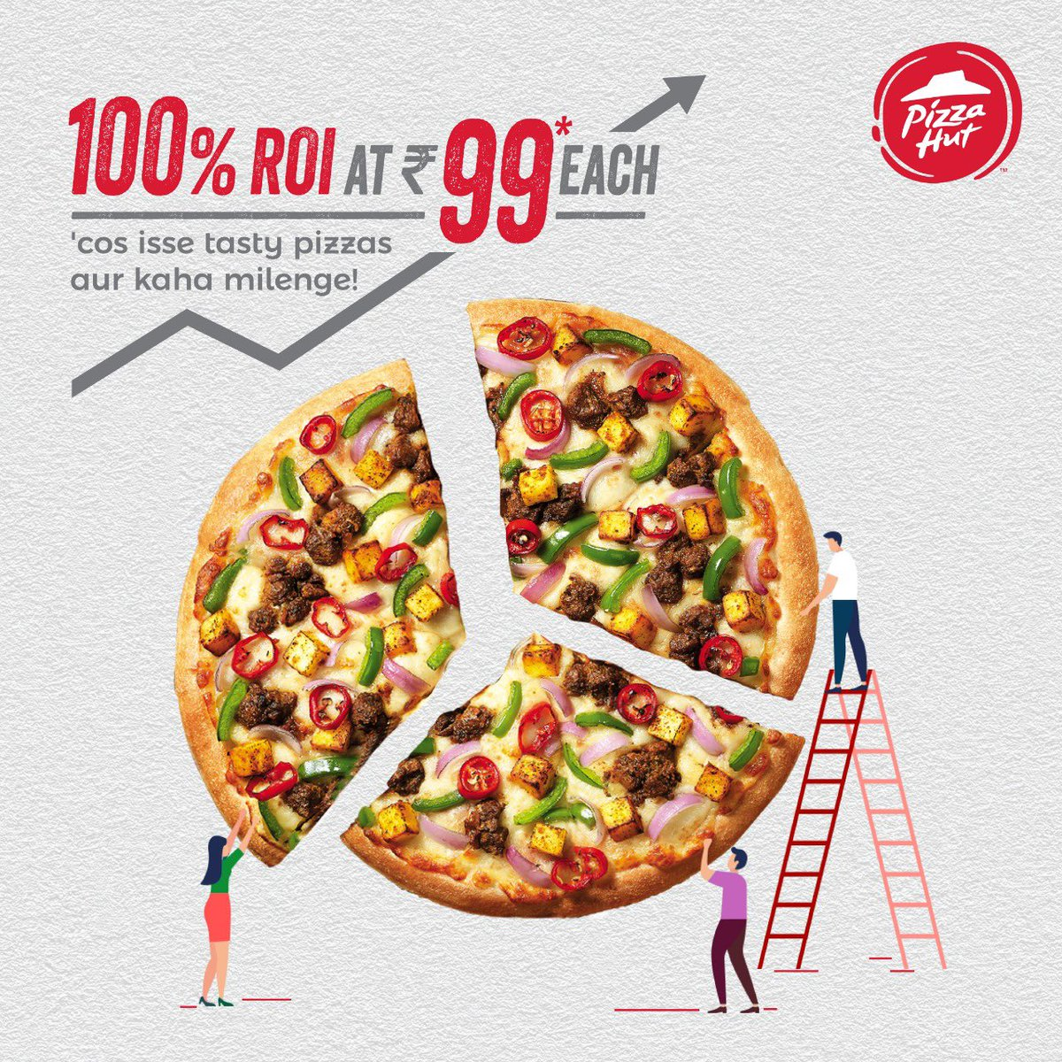 GDP gt Ghar lao delicious Pizzas sirf Rs. 99 mein PizzaHutJavenge Budget2020 T amp C Apply https t.co iHCL37g1Lb