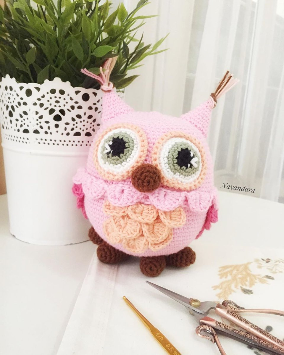 Free crochet owl amigurumi pattern - Amigurumi Today | 1200x960