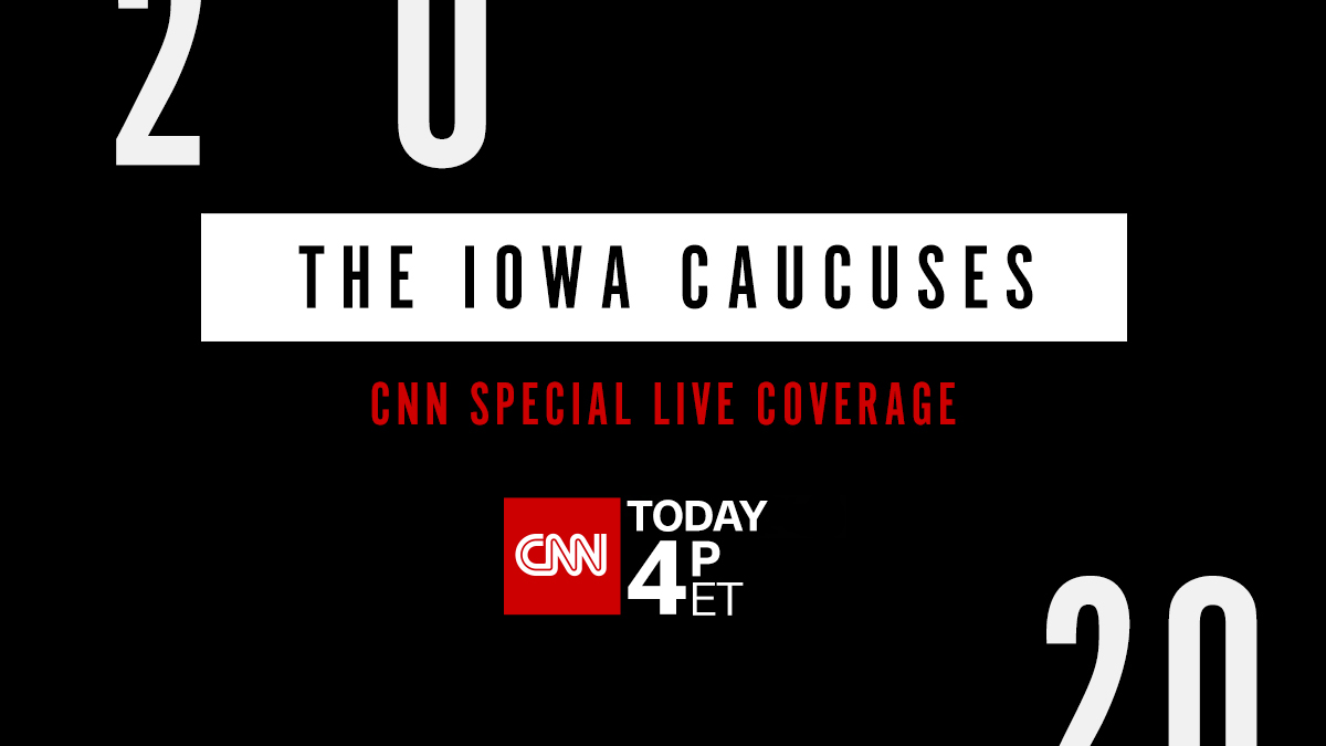 Cnn On Twitter The Iowa Caucuses Are Tonight Here S Everything You Need To Know About How To Watch Cnn S Coverage Of The First Major Votes Of 2020 Special Coverage Starts At 4