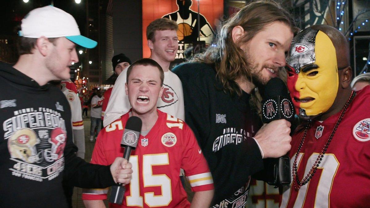 Kansas City partied like champions last night