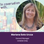 Image for the Tweet beginning: We interviewed Mariana Soto Urzúa