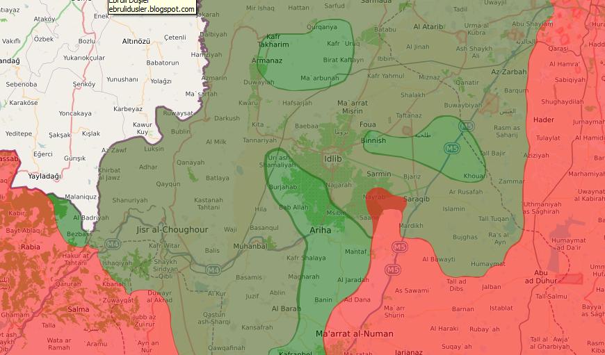 Трасса Алеппо-Латакия перерезана