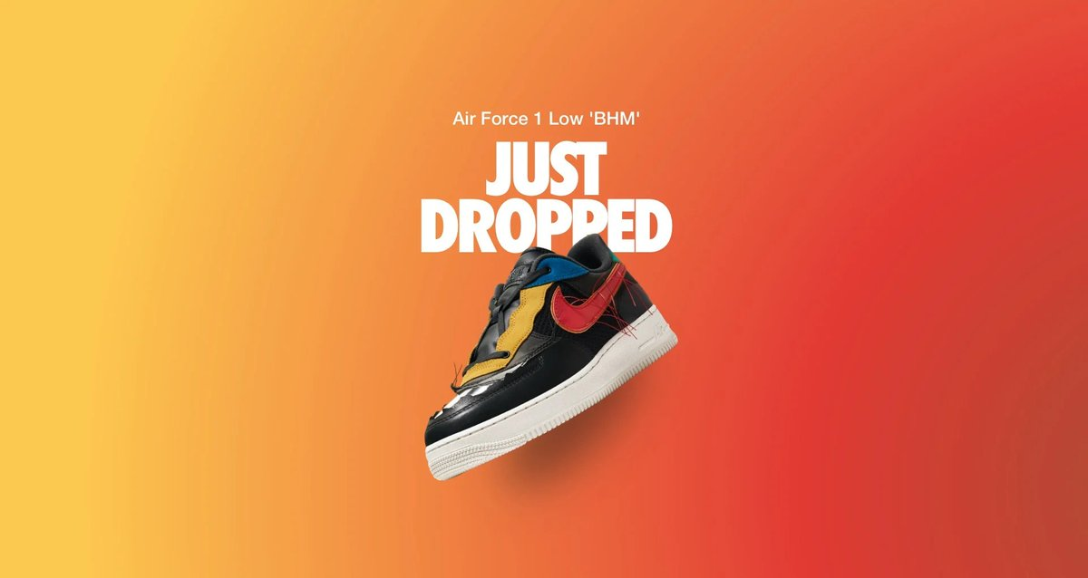 Moresneakers Com On Twitter Ad Us Release Shock Drop Nike Air Force 1 Low Bhm 2020 Live In Less Than 2min In The Us Https T Co 7csi8o71eh