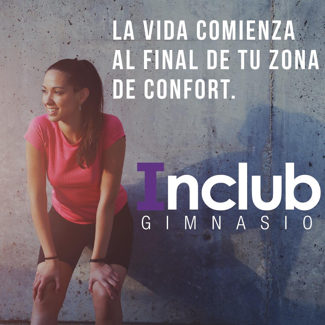 La vida comienza al final de tu zona de confort. #InclubGym #Inclub #PerdePeso #EsteticaInclub #BastadeBullying  #CordobaArgentina  #GimnasioInclub #PromoInclub #EntrenaenInclubpic.twitter.com/YBeKKGhGsd