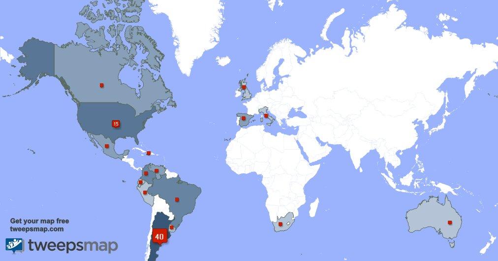 I have 2 new followers from USA last week. See http://tweepsmap.com/!AFA_laseleccion…pic.twitter.com/B3W9WvO2BU