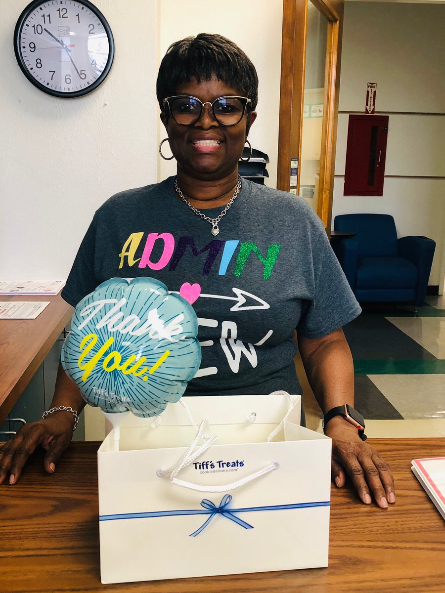 We ❤️ our counselor Ms. Hattie Long! Thank you Ms. Long for all you do! #counselorappreciationweek