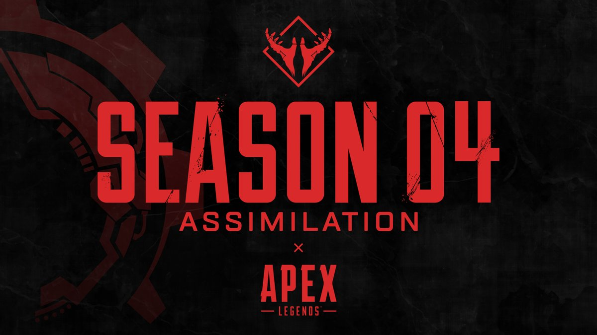 Reveal your true nature with @PlayApex Season 4 – Assimilation.  Now live on all platforms.