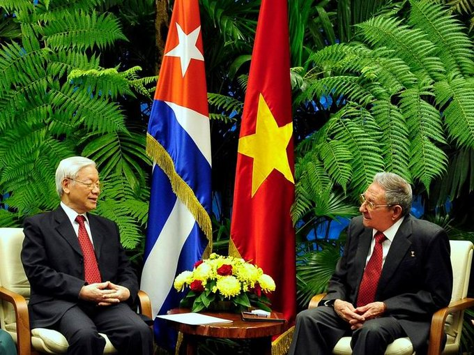 Raul Castro congratulates Vietnamese Communist Party on its 90th anniversary