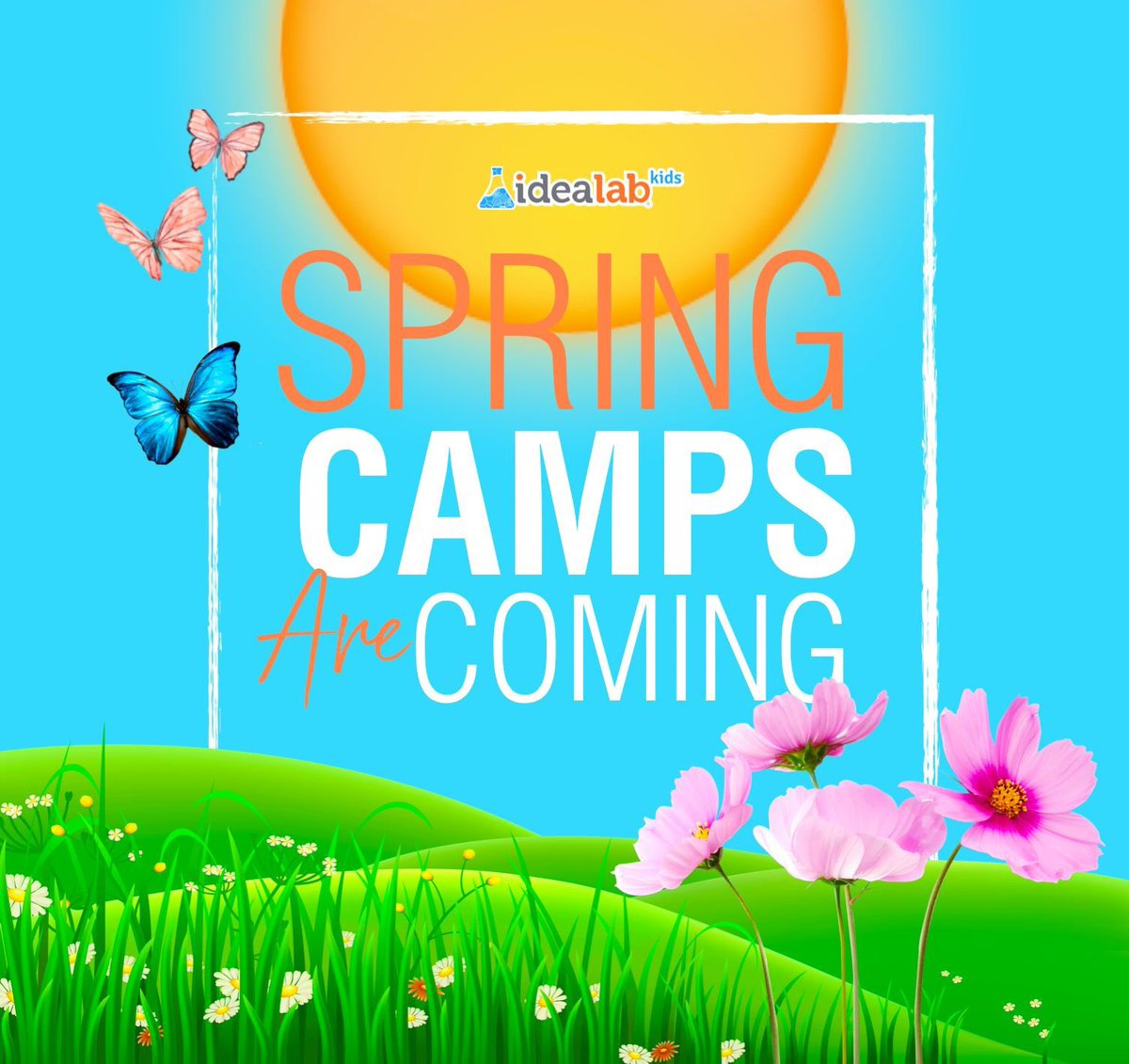 The promise of spring's arrival is enough to get anyone Excited! As Spring is around the corner we are preparing to have the best Camps ever!  #IDEALabKidscentralhouston #STEAM #RockYourGreyMatter #SpringIsComing #SpringBreak #SpringCamps #houstonkids #bellairepic.twitter.com/Gn0d8CofBl