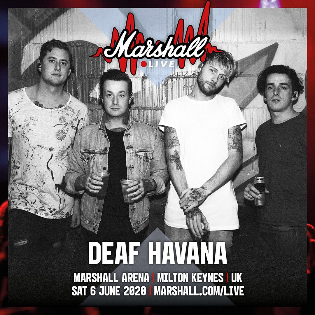 Who's got their tickets for @marshallamps #MarshallLive?@SHVPESofficial and @DemobHappy have just been added to this amazing line up, so get on it and we'll see you all in June.   Get your tickets here: http://bit.ly/2Op5uEJ