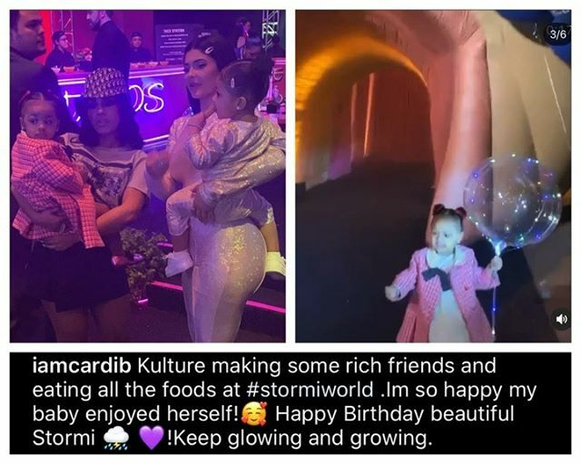 #KultureCephus was loving her best life at #StormiWebster's birthday party this weekend. Her auntie Hennessy took her to #StormiWorld for 2-year-old's huge bash. #YBFKids https://ift.tt/2GSFT2xpic.twitter.com/n3pl5qudw1