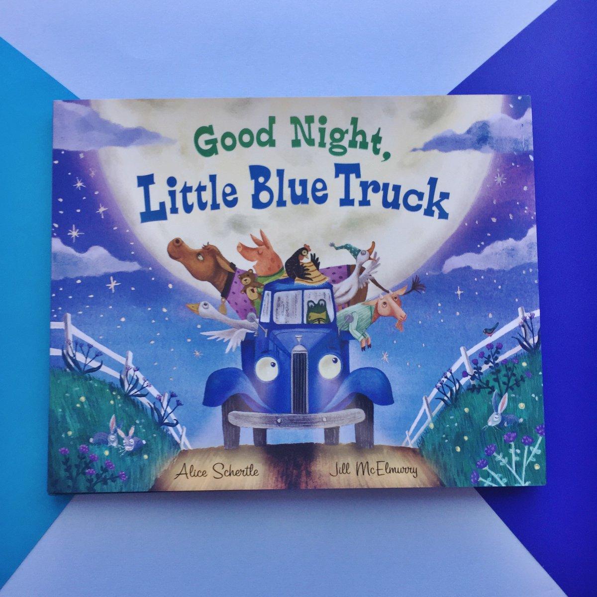 Wind down your evening with GOOD NIGHT, LITTLE BLUE TRUCK. #LittleBlueTruck #kidlit