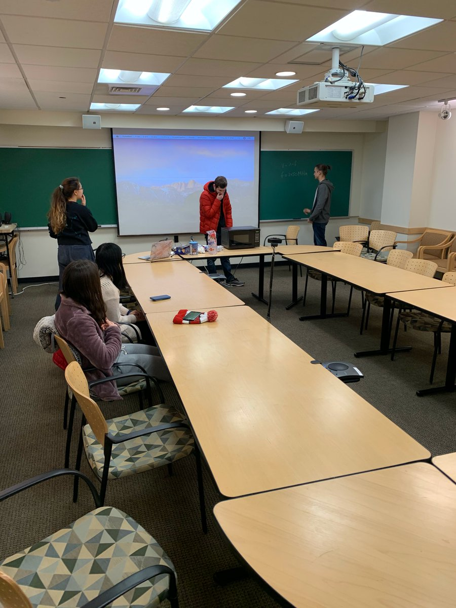 Last weeks meeting was a great start to the semester with delicious hot chocolate and marshmallows. Come this Thursday at 6:00 PM in SCI 352 to test your engineering skills with a fun engineering challenge! https://t.co/2D25hNfe9I