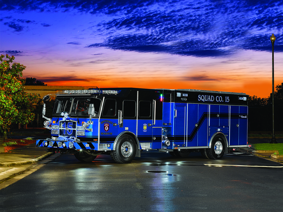 We're kicking off the month with this blue beauty - our February calendar truck - an eMAX Rescue Pumper for Winterville Fire-Rescue-EMS. Learn more details about this truck here: https://bit.ly/2S6lahc #EONEstrength #firetrucks #WintervilleNC pic.twitter.com/likmAifjdJ