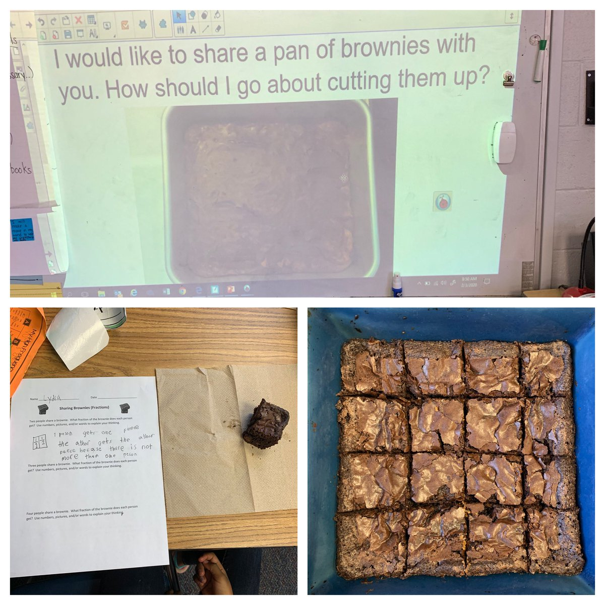 Our fraction unit is off to a delicious start today! <a target='_blank' href='http://twitter.com/CampbellAPS'>@CampbellAPS</a> <a target='_blank' href='https://t.co/iirpRgsmWU'>https://t.co/iirpRgsmWU</a>