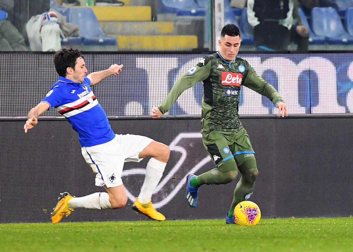 Xem lại Sampdoria vs Napoli Highlights, 04/02/2020