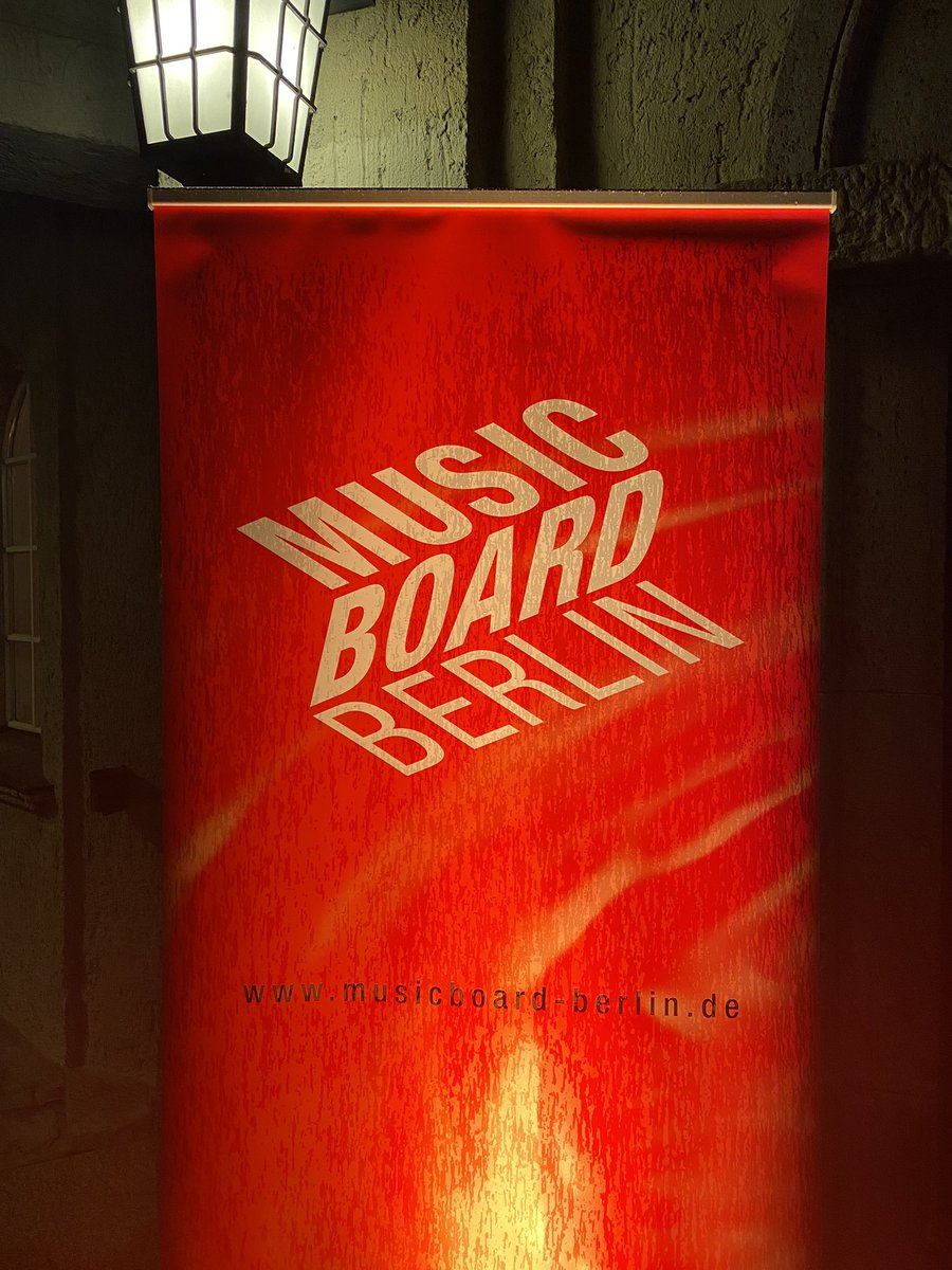 Thanks for inviting me, good to be here, #musicboardberlin #silentgreen #berlinmusic pic.twitter.com/MYVswGzVeF