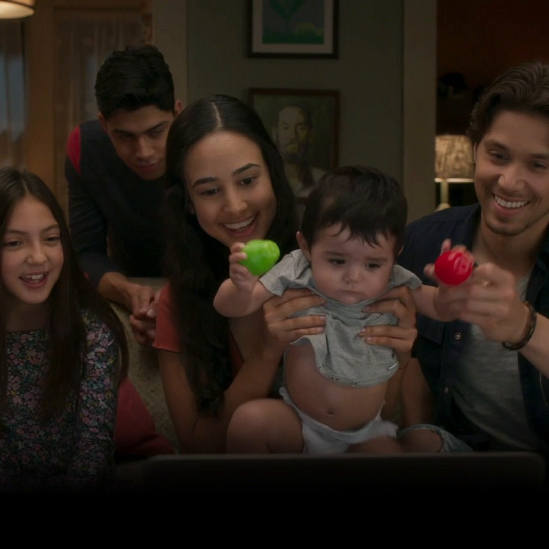 We feel a part of this familia. Watch the latest episodes of #PartyOfFive now on @Hulu.