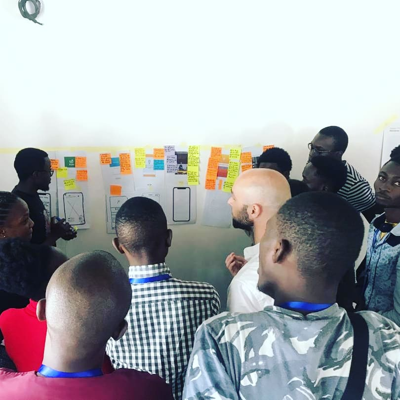 Just coming back from an amazing privacy by design masterclass with Facebook and the @KinshasaDigital Academy (KDA) in DRC!#PrivacybyDesign #dataPrivacy #Transparency #design #Masterclass #Facebook #UX #UI #UserExperience #Workshop #hcd #designprocess #designagency
