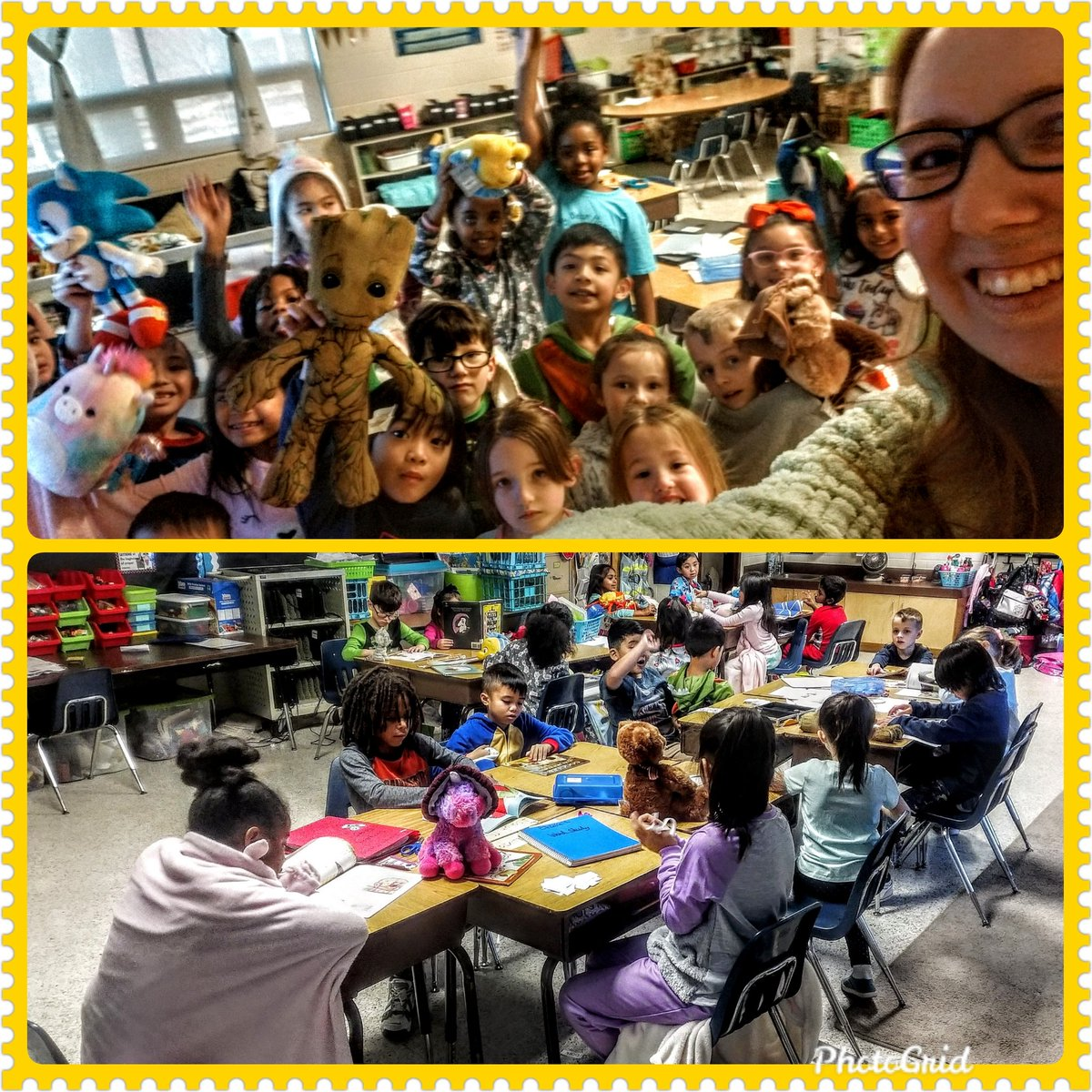 Today was D.E.A.R. and our school-wide pajama day! My class thoroughly enjoyed it! @SalemESVB