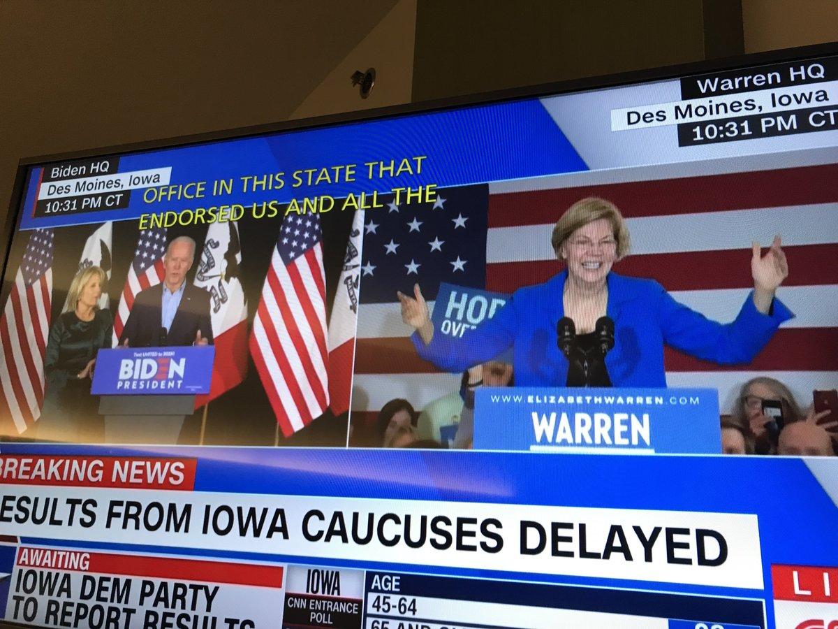 #IowaCaucuses