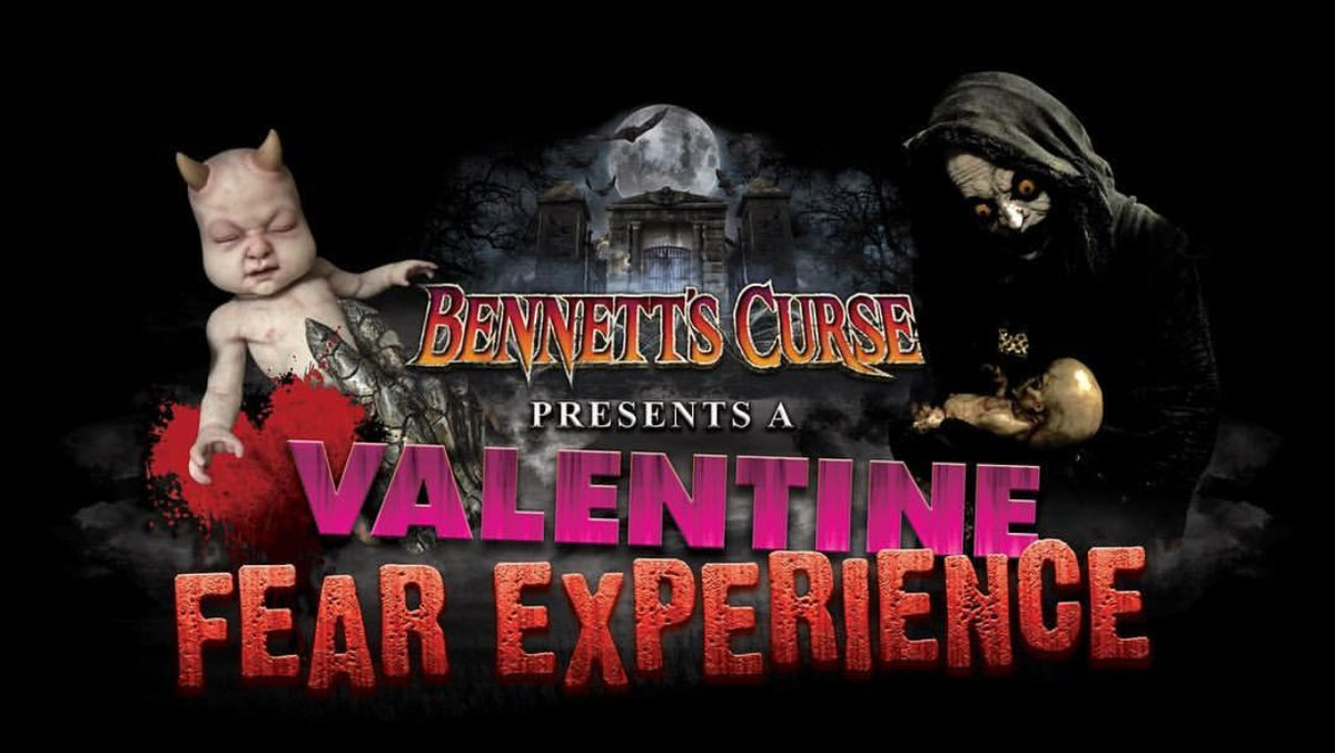 Love horror? #entertowin a pair of VIP tickets to @bennettscurse A Valentine Fear Experience! #MarylandMondays contest runs through Feb 9. Must be 18+ to enter. Winner notified via email. https://t.co/IqhOwLui1L https://t.co/tLYR7vI2VF
