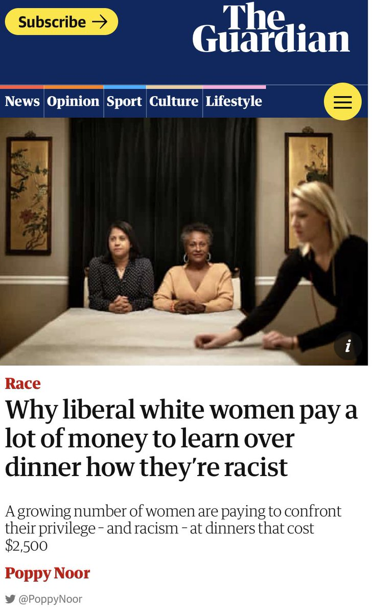 inviting some of my closest friends over for white guilt hors-devours. the perfect solution!
