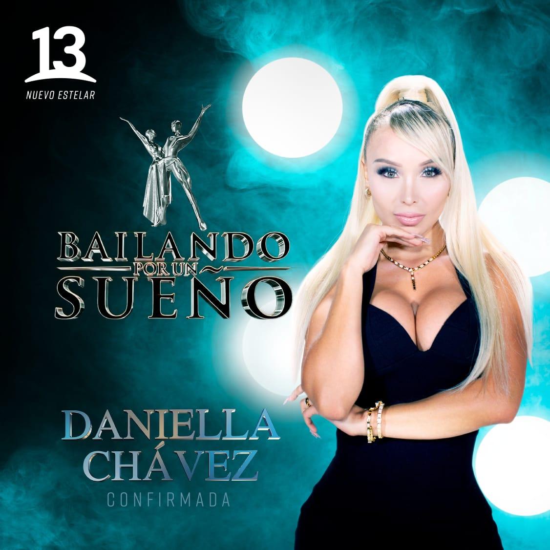La chilena con más seguidores en redes sociales viene a demostrar con su sueño, que se la juega por las mujeres ✨💃 Bienvenida Daniella Chávez a @bailandoc13_ ✨ EN MARZO #BailandoPorUnSueño con @rubionatural 🔝
