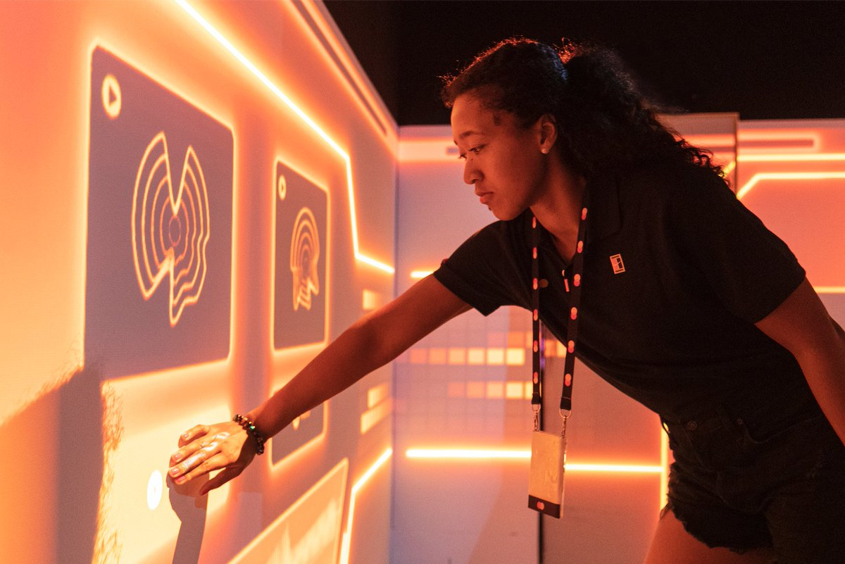 Our Global Ambassador @naomiosaka showed us her off-court talent at our Breakthrough Room during this year's #AusOpen. Watch the #tennis champion complete the challenge in 00:03:36. #AO2020 pic.twitter.com/OC74kjG2F9