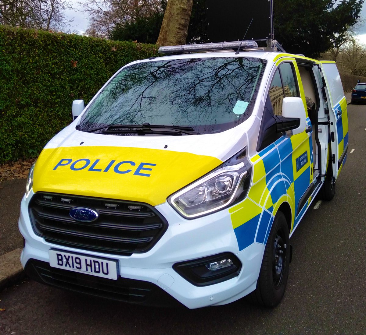 First of the new bespoke RTPC Incident Support Units rolling out accross London: providing essential & rapid support to officers dealing with serious collisions #VisionZeroLDN